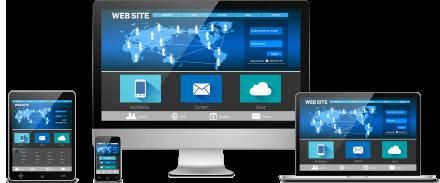 PCとスマートフォンで最適なホームページをご提供!